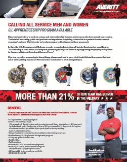 Military Recruiting Brochure