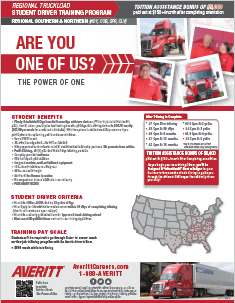 Student Driver Flyer
