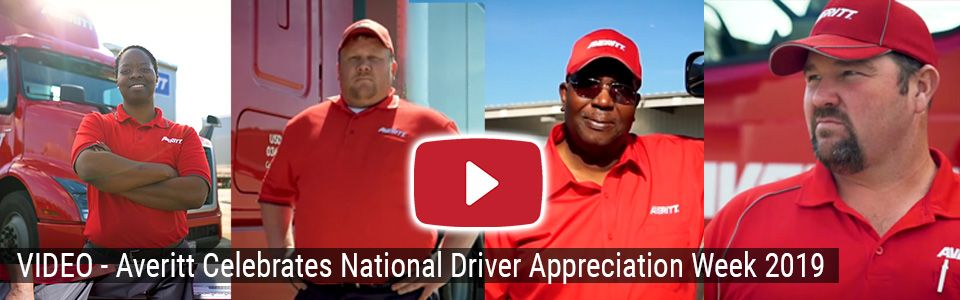 Averitt celebrates National Driver Appreciation Week 2019