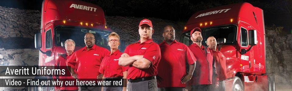 Averitt Uniforms - Our Heroes Wear Red