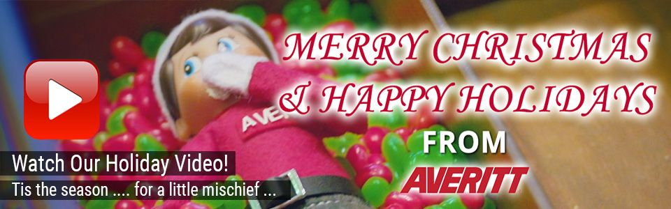 Merry Christmas and Happy Holidays from Averitt!